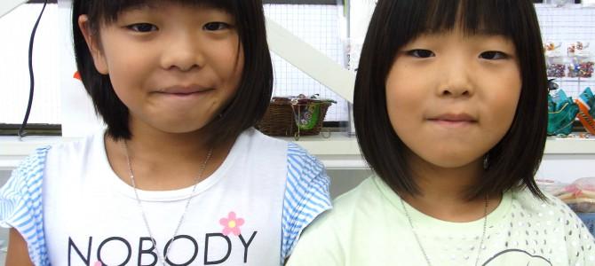 姉妹で仲良く【1日体験】