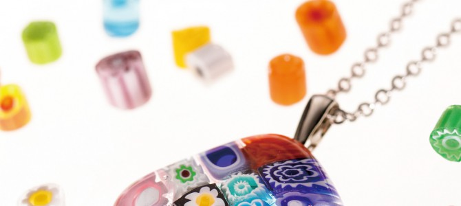 10月発売です!!書籍「はじめてのガラスフュージング ベネチアンガラスで作るアクセサリー」