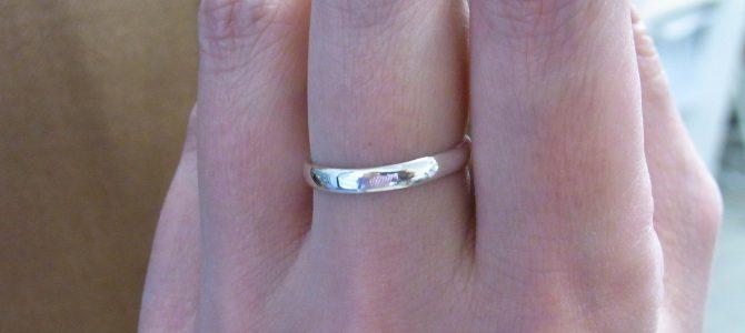 甲丸の指輪【彫金体験】