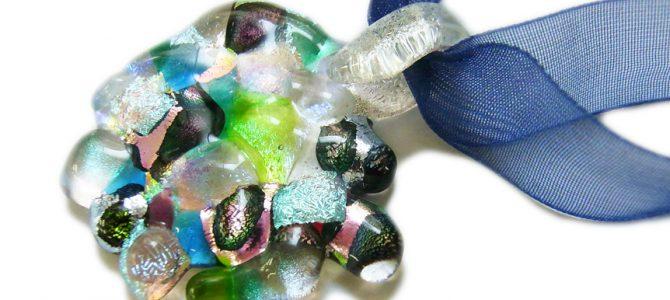 【受講者募集中!】チタンガラスのゴロゴロペンダント