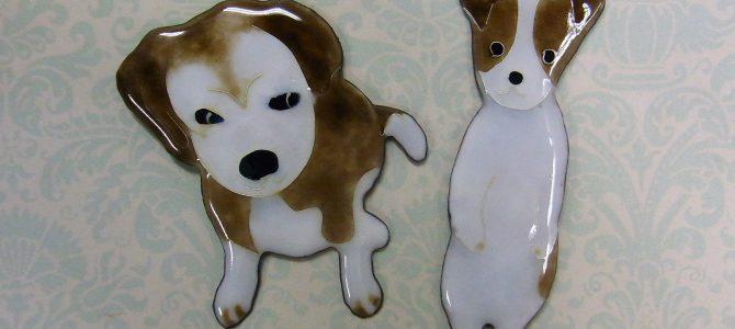 愛犬の日常を表現【七宝教室】
