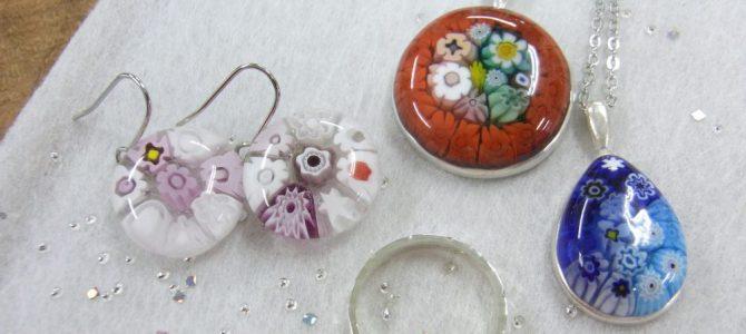 4名様、ガラスと彫金リング体験【1日体験】