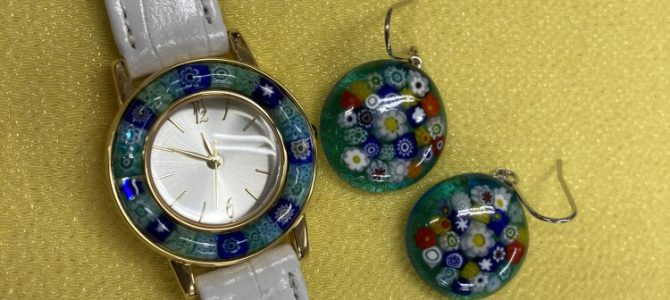 腕時計とピアス【1日体験】
