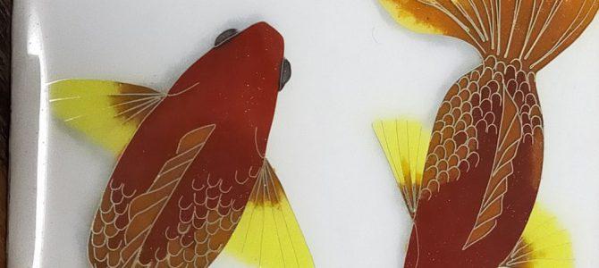 有線七宝 金魚《七宝教室/生徒さん作品》