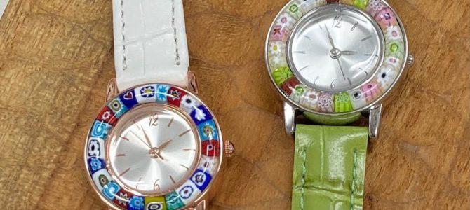 透明と不透明で腕時計【1日体験】